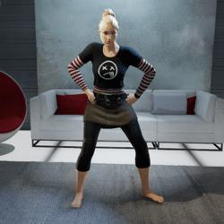 MC Hammer Dance (Female)