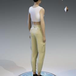 cargo pants for women khaki 1