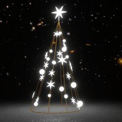 Light Christmas Tree  White Set