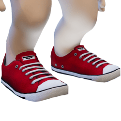 Rigged Red Sneakers Minis
