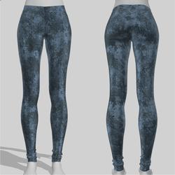 Leggings Maddy Grunge Blue