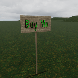 Buy Me Sign