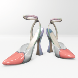 Amore pumps for Nicci - pink