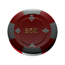 Poker chip 5k (colision)