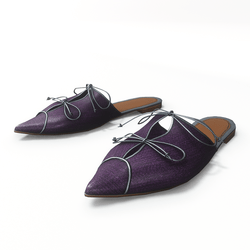 AV 2.0   Rome - flat mules in purple