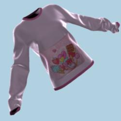 Yum! pocket sweater (pink)
