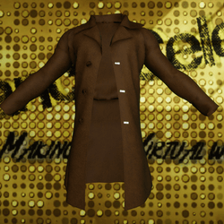Male Brown Suede Jacket