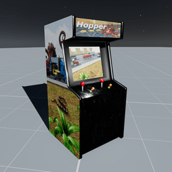 Hopper Arcade Game