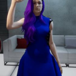 Ice Queen Dress