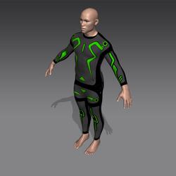 Data Grid Suit (M)