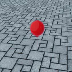 Balloon (with Collision)