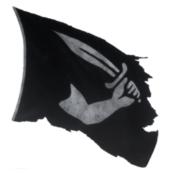 Pirate Flag 02 Blowing 01