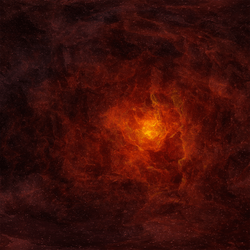 Polygon ~ Skybox Nebula Red