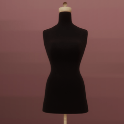 Mannequin Woman Black for MD