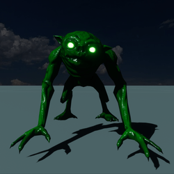 ANIMATED GREEN MONSTER(TINT TO ANY COLOR)