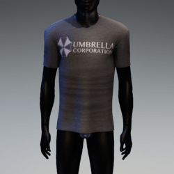 Umbrella Corporation T-Shirt Gray Heather