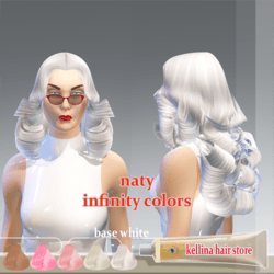 naty-base white -infinty colors