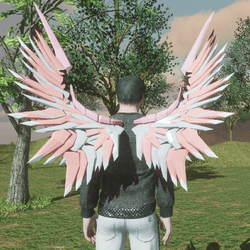Mech Wings Male Pinks