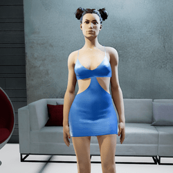 MIA mini dress blue