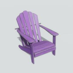 adirondack chair lavendar
