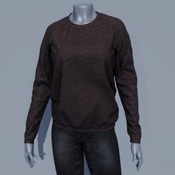 Women Sweater - Coffee Brown