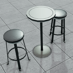 MODERN | Bar Table & Stool Set