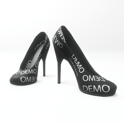 "High heel pumps for ""Alina Daisy highheels"" and ""Nicci"" avatar - demo"