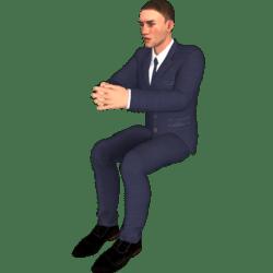 Willybald sitzt