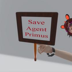 Save Agent Primus Sign (TM)