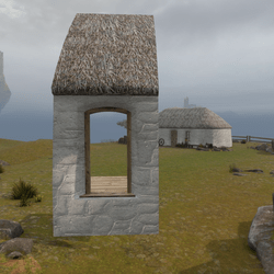 Highland Cottage Kit: Doorway Side