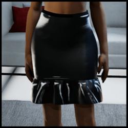 skirt latex 1