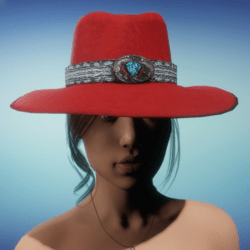 COWGIRL HAT - Red