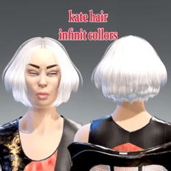 kate hair -infinit collors