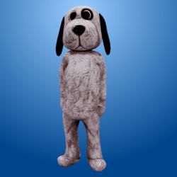 White Spot Dog Costume