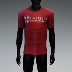 Umbrella Corporation T-Shirt Red Heather