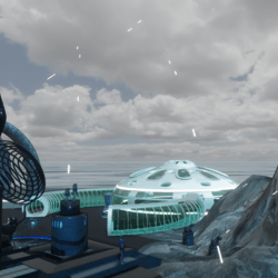 Space ship war