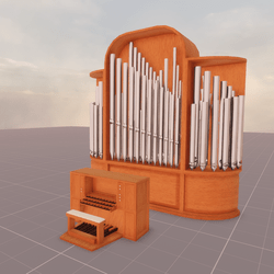 Pipe Organ Decoration