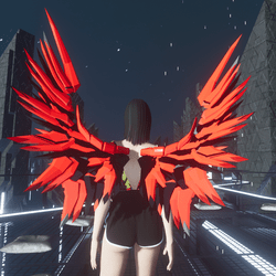 Mech Wings Female Dark Knights