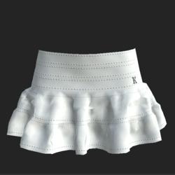 Minifalda white