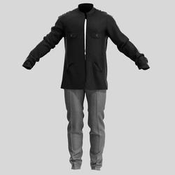 Male pants and jacket