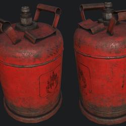 Propane Gas Cylinder 1B