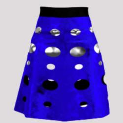 Dalek Skirt (Blue)