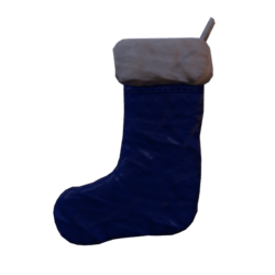 Chistmas sock blue