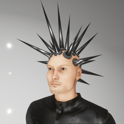 punk spikes