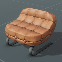Leather Chair | Bendy
