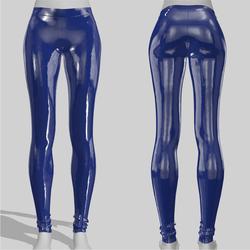 Leggings Maddy Vinyl Blue