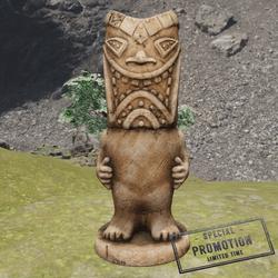 TKA SH Tiki Statue Wood