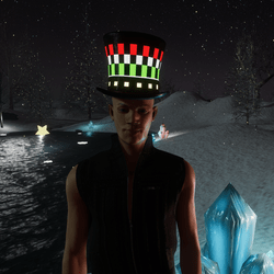 GLOWING LID HAT - CHRISTMAS GIFT