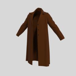 male coat brown