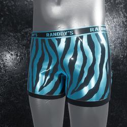 Boxer Briefs Zebra blue